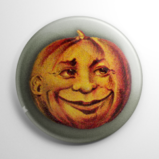 Vintage Halloween - Happy Pumpkin Button