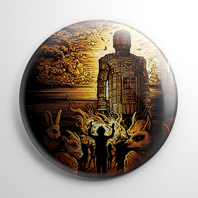 The Wicker Man Button