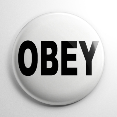 They Live Obey Button