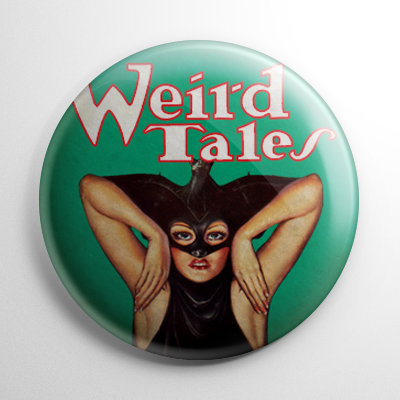 Weird Tales – The Vampire Master Button