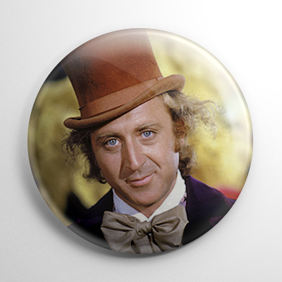 Willy Wonka Button