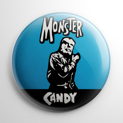 Monster Candy - Wolf Man Button