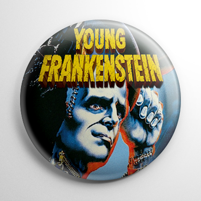 Young Frankenstein - Poster A Button