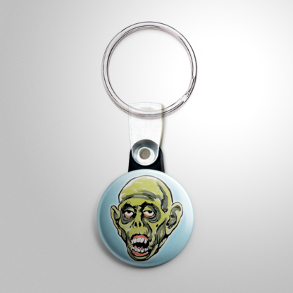 Halloween Mask - Ghoul (A) Keychain