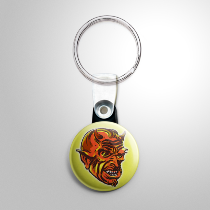 Halloween Mask - Red Devil (A) Keychain