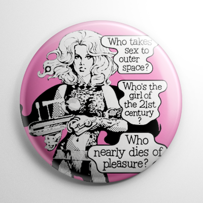 Barbarella (C) Button