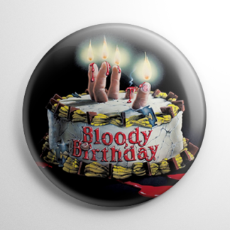 Bloody Birthday Button
