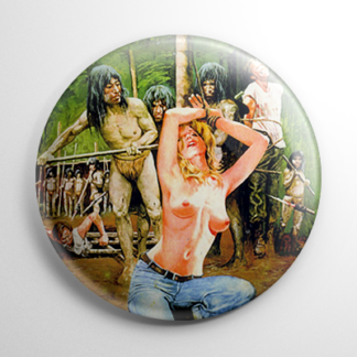Cannibal Ferox Uncensored Button
