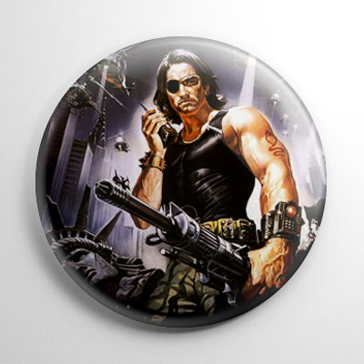Escape from New York (B) Button