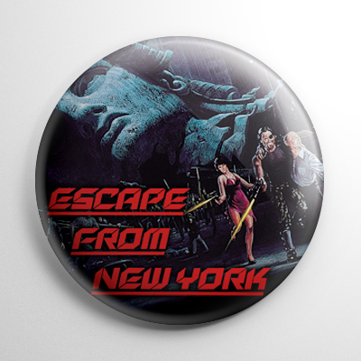 Escape from New York Button