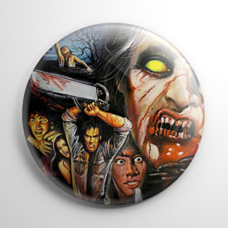 Evil Dead II Collage Button