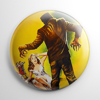 Frankenstein 1970 Button