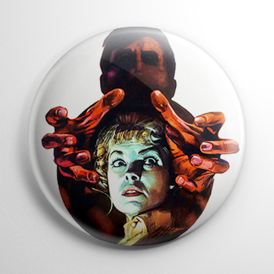 Psycho Poster Button