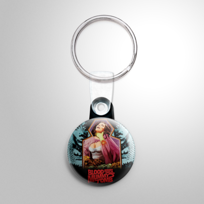 Horror - Blood from the Mummy's Tomb (B) Keychain