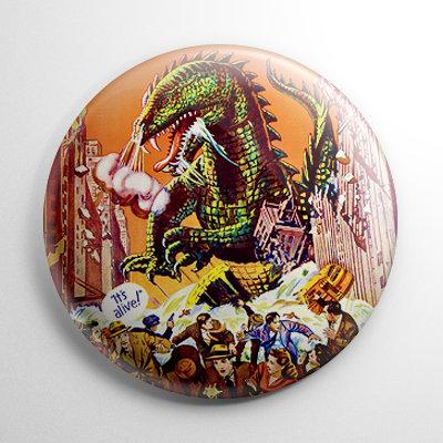 The Beast from 20,000 Fathoms Button