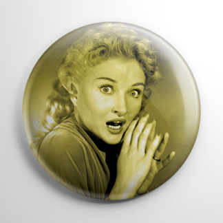 Scream Queen - Carol Ohmart House on Haunted Hill (B) Button