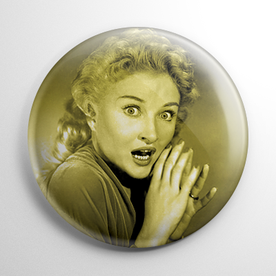 Scream Queen – Carol Ohmart House on Haunted Hill (B) Button