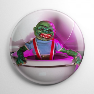 Ghoulies (B) Button