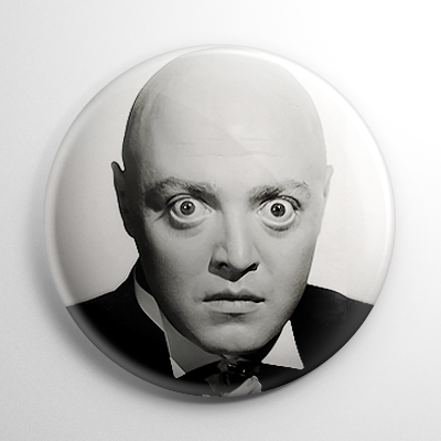 Peter Lorre Mad Love (B) B&W Button