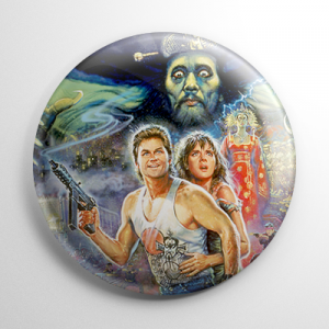 Big Trouble in Little China Button