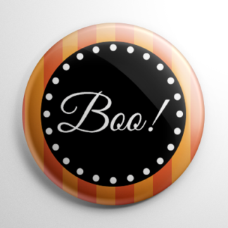 Vintage Halloween - Boo Button