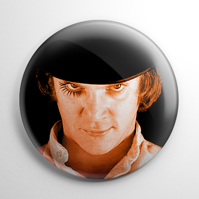 A Clockwork Orange Alex Delarge (Color) Button