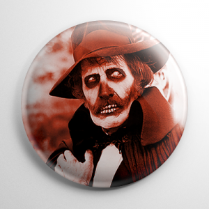 Dr. Death Vincent Price Madhouse Button