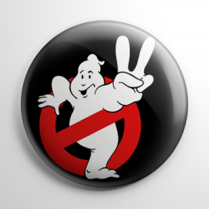 Ghostbusters II Button