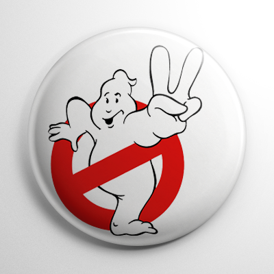 Ghostbusters II (B) Button