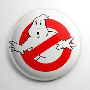 Ghostbusters (B) Button