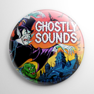Vintage Halloween - Ghostly Sounds Button