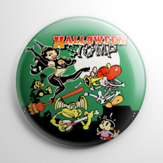Vintage Halloween - Halloween Stomp Button