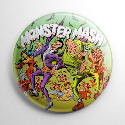 Vintage Halloween - Monster Mash Button