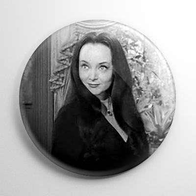 The Addams Family Morticia Button
