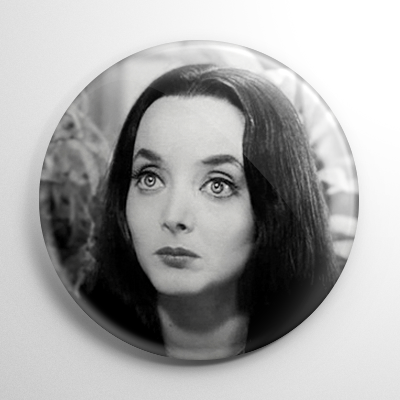The Addams Family Morticia (B) Button
