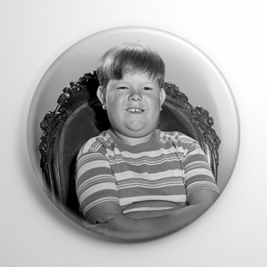 The Addams Family Pugsley Button