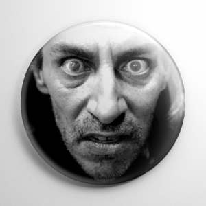 Twin Peaks Killer Bob Button