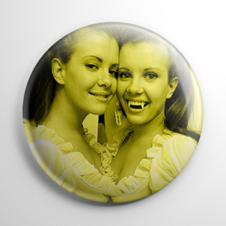 Scream Queens - Twins of Evil Mary & Madeleine Collinson (B) Button
