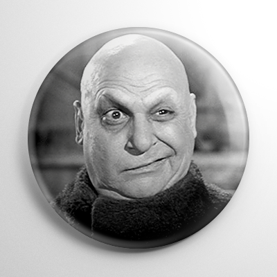 The Addams Family Uncle Festor Button