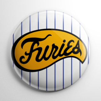 The Warriors Baseball Furies Button
