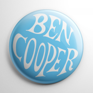 Ben Cooper Blue Button