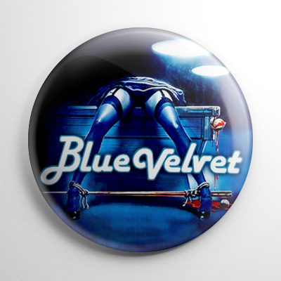 Blue Velvet Button