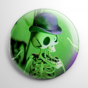 Corpse Bride - Bonejangles Button