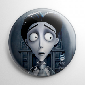 Corpse Bride - Victor Van Dort Button