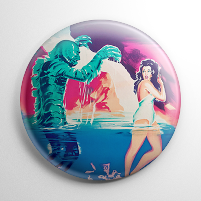 Creature from the Black Lagoon Poster (B) Button