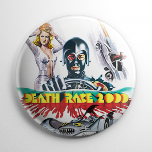 Death Race 2000 (B) Button