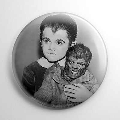Eddie Munster Button
