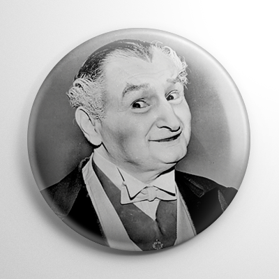 Grandpa Munster Button