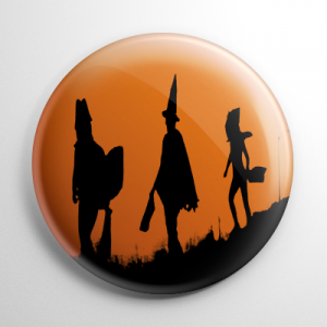 Halloween III Season of the Witch Trick or Treaters Button