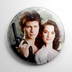 Heathers - JD and Veronica Button